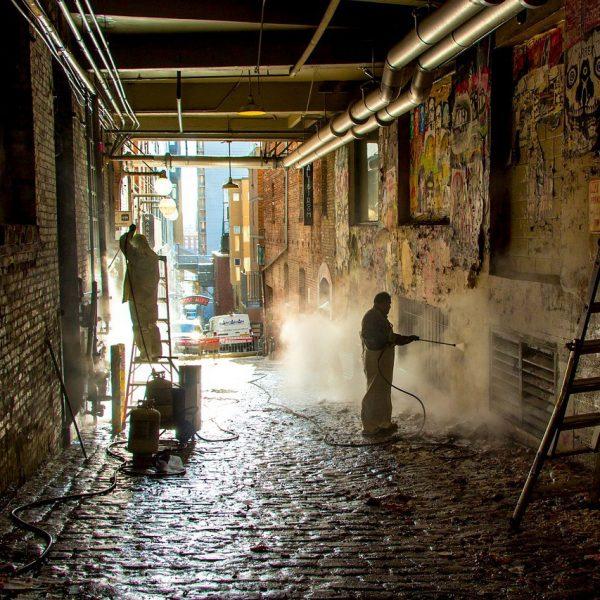 Graffitientfernung Frankfurt